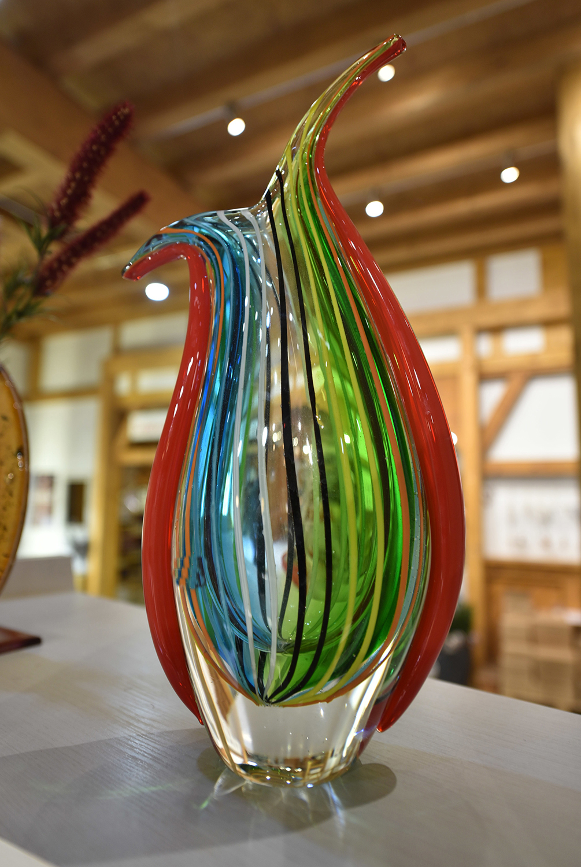 Handwerk Glaskunst Vase