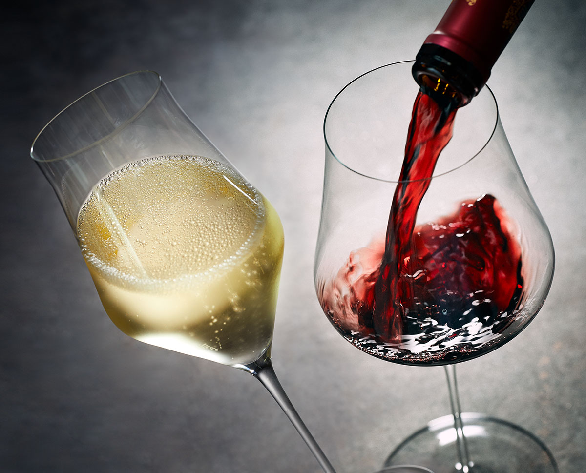 Das perfekte Weinglas